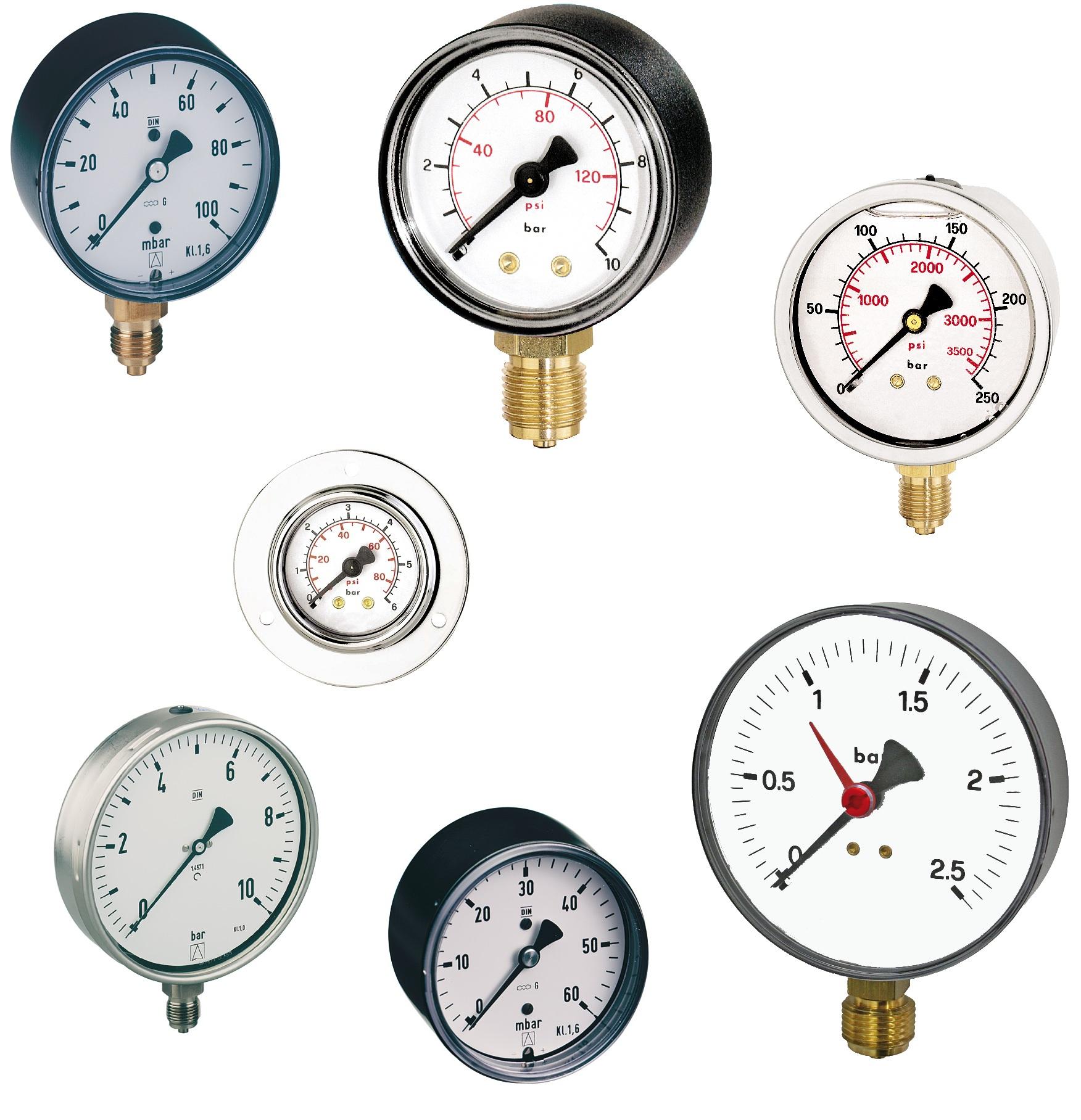 Manometer Serie M10